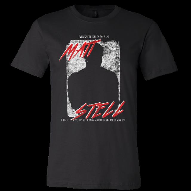 Matt Stell Unisex Black Tour Tee