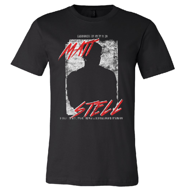 Matt Stell Unisex Black Tour Tee